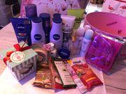 Beautybox Cremes Pflege Haare