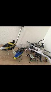 Quadcopter und Helis