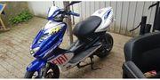 Yamaha Aerox 25kmh und 50kmh