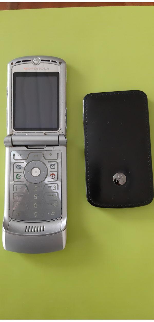 Klapphandy Motorola RA ZR V