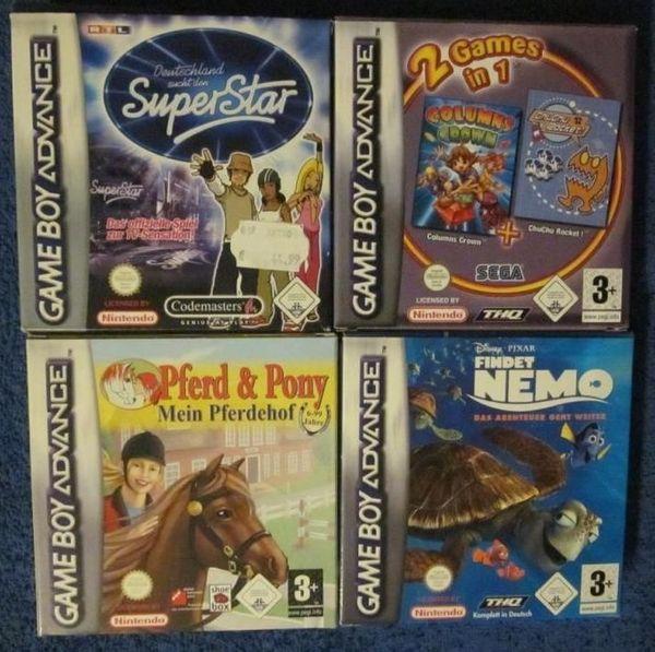Div Gameboy Advance Nintendo DS-Spiele