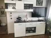 Wohnzimmer Landschaft neuwertig Schränke aus