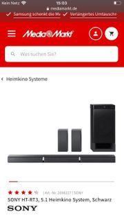 Sony HT-RT3 600 Watt Heimkino