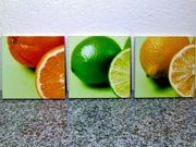 Wandbilder Obstmotive limitierte Auflage