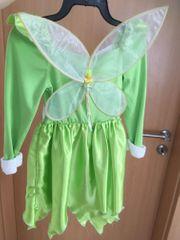 Tinkerbell Kinderkostüm mit Flügel