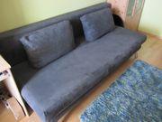 Couch als Doppelliege verwandelbar