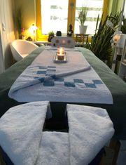 Massage entspannen und genießen