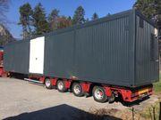 14x3m mobile Werkstatt Wohncontainer Bürocontainer