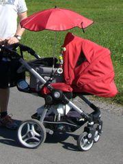 Kinderwagen Teutonia BeYou mit Zubehör
