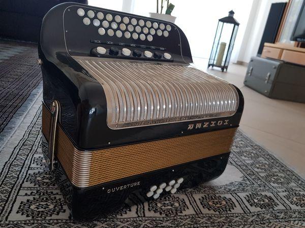 Hohner Handharmonika Akkordion diatonisch Ouverture