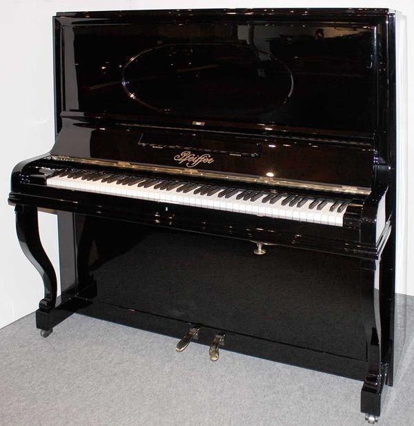 Klavier Pfeiffer 145 schwarz poliert
