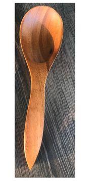 Schöner großer Holz-Löffel sehr guter