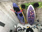 Surfbretter Masten Segel
