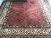 Großer Teppich maschinengeknüpft Schurwolle sehr