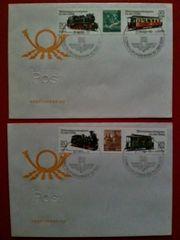 DDR Briefmarken Ersttagsbriefe Schmalspurbahnen
