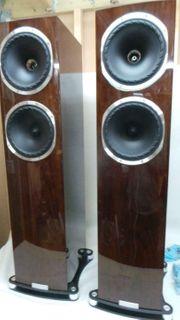 Fyne F502SP Lautsprecherpaar verpackt Excellent