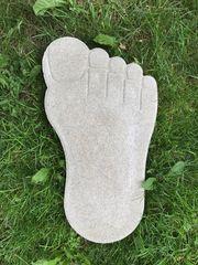Trittplatten Fuß