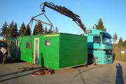 CONTAINER-TRANSPORT Baucontainer Seecontainer Bauwagen Wohncontainer