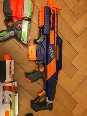 Nerf Elite Waffen für outdoor-