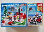 Playmobil Feuerwehr 5169 und 4825