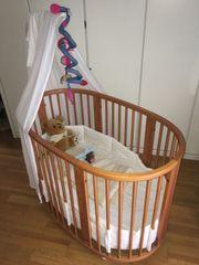Kinderbett Stokke Sleepi mitwachsend