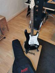 Fender Squier Bullet Strat schwarz
