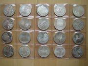 10 DM Gedenkmünzen Silber - 20