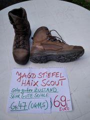 HAIX SCOUT JAGD STIEFEL GR