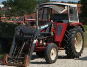 Case 644 Traktor Schlepper Frontlader