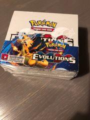 Pokemon Display Evolutions XY 2016