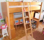 Hochbett Bett von Hülsta Reihe