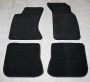 Audi A4 Velourfussmatten schwarz 4tlg