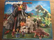 Playmobil Vulkan Dinosaurier