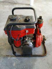 Wasserpumpe - Benzinantrieb
