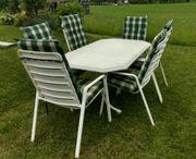 Gartengarnitur - Acamp Tisch und Stühle