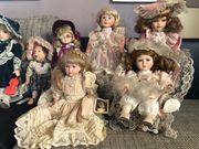 Keramik-Puppen komplette Sammlung abzugeben