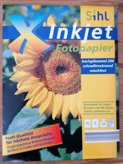 Photo-Papier Foto-Papier Tintenstrahldrucker hochauflösend neu