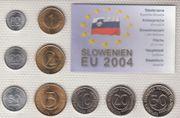 Kursmünzensatz Slowenien KMS 2004 Bankfrisch