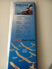 Segelflugzeug Modell Robbe Start 430
