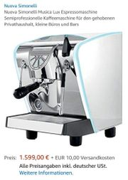 Kaffeemaschine Simonelli