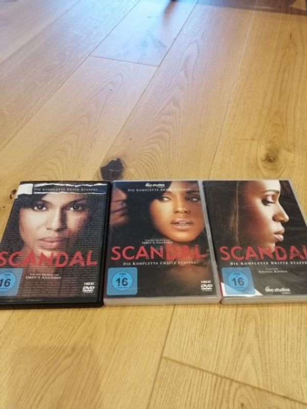 Scandal Staffel 1-3