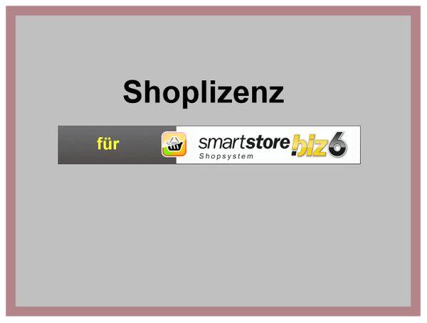 Shoplizenz für SmartStore biz 6