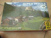 2 verschiedene große Puzzle - Spiele
