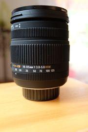 Sigma Zoom Objektiv 18 - 125