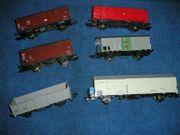 6 x Roco H0 Güterwagen
