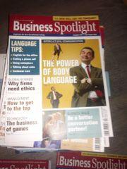 Business Spotlight Hefte mit den