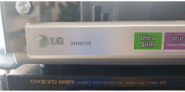 DVD Recorder LG DR4912S