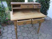 Holz-Schreibtisch antik