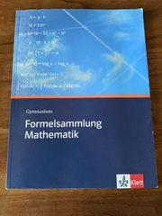 Schulbuch Formelsammlung Mathematik ISBN 9783127185102