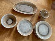 Keramik Geschirrset